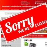 Redcoon webshop closed